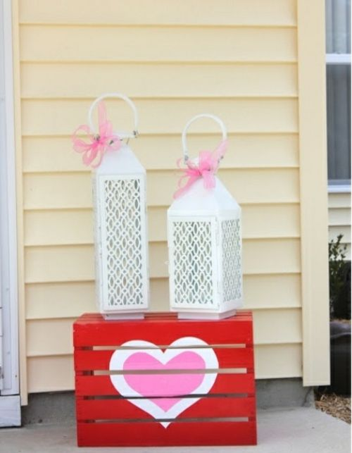 Id e pour la saint valentin d corez votre ext rieur - Deco vitrine st valentin ...