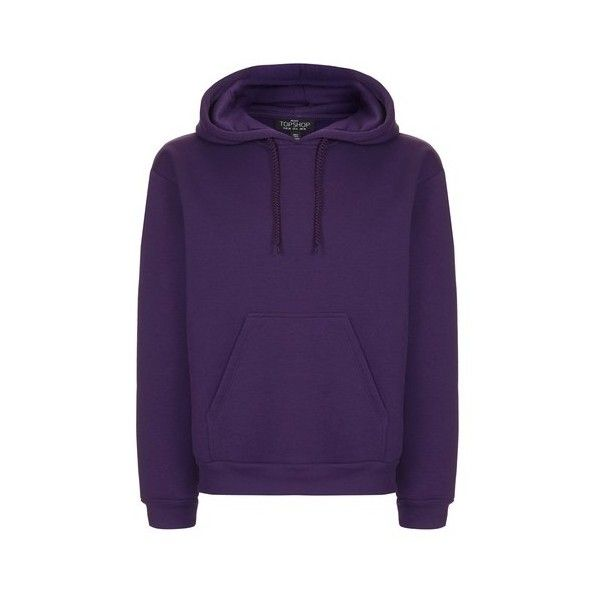 Topshop Petite Oversized Hoodie (€31) ❤ liked on Polyvore featuring tops, hoodies, purple, purple hooded sweatshirt, sweatshirt hoodies, purple top, petite hoodies and purple hoodie