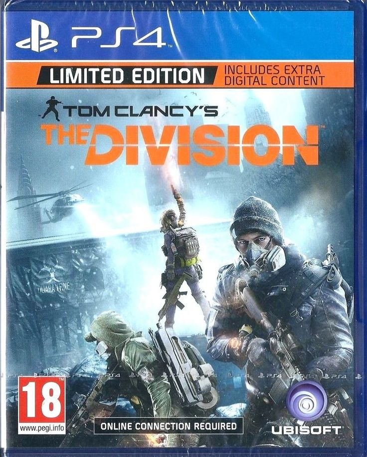 Tom Clancy's The Division - Limited Edition (PS4) NEW
