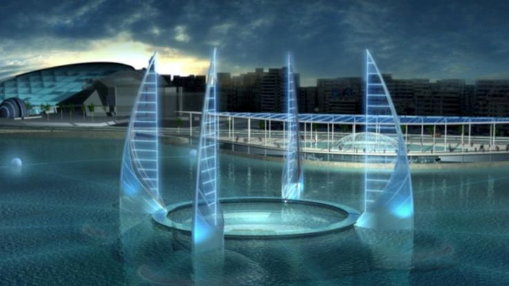 Le musée sera composé de deux parties sur deux niveaux dont l'une sous-marine. [Rougerie / UNESCO]