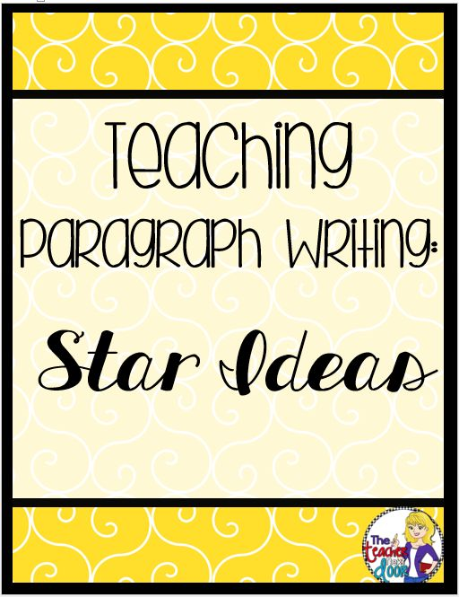 Learning How to Write Paragraphs: Grade 2 Reading and Language Art Lesson Plan