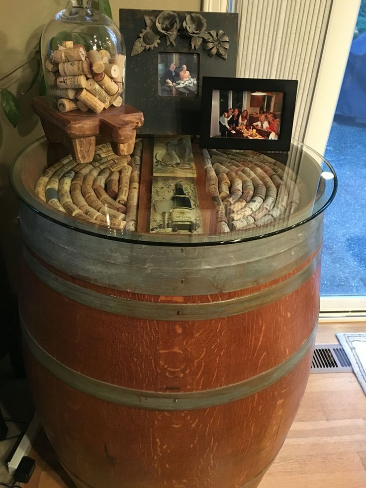703 best Wine barrels and wine barrel staves images on ...