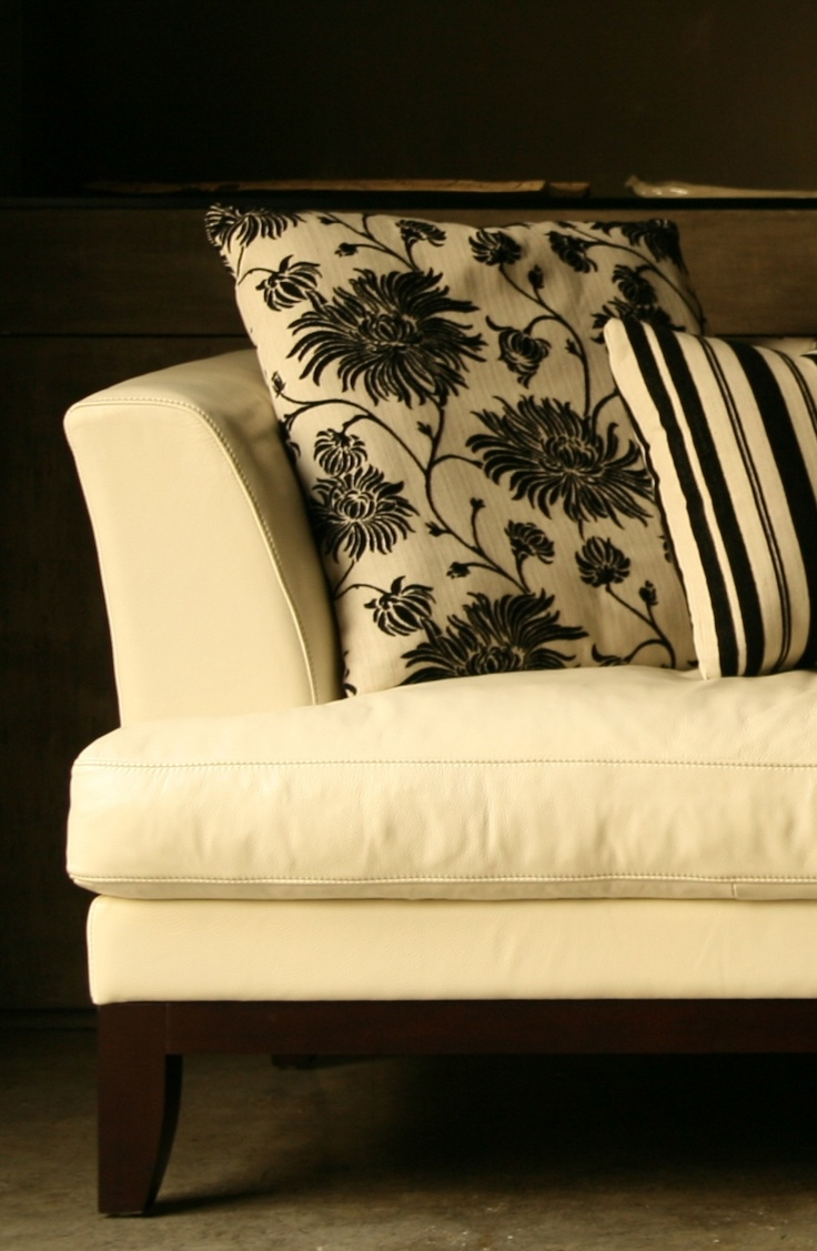 White Leather Sofa By Robert Petril My Work Furniture