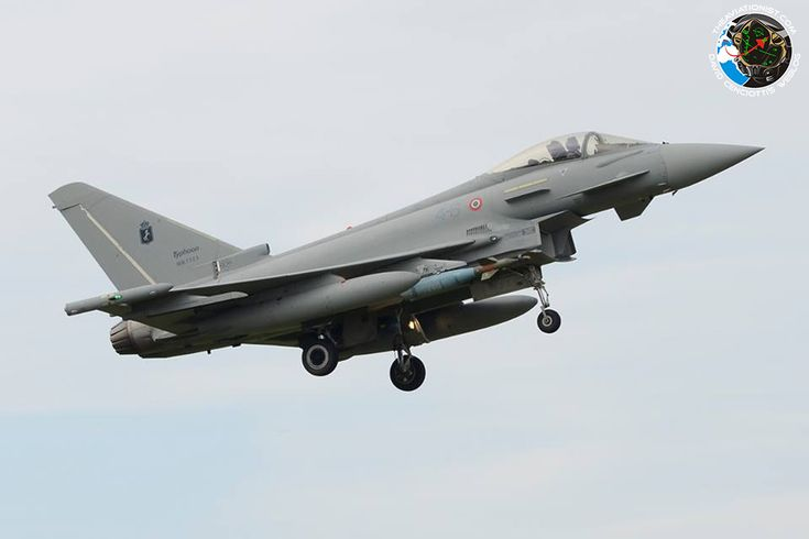 The Italian Eurofighter Typhoons are involved in the OT&E in the air-to-ground mission
