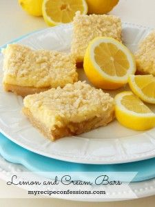 Lemon and Cream Bars