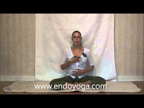 Video instruction for the Long Deep Breathing technique. http://www.endoyoga.com/1/post/2013/07/video-long-deep-breathing.html