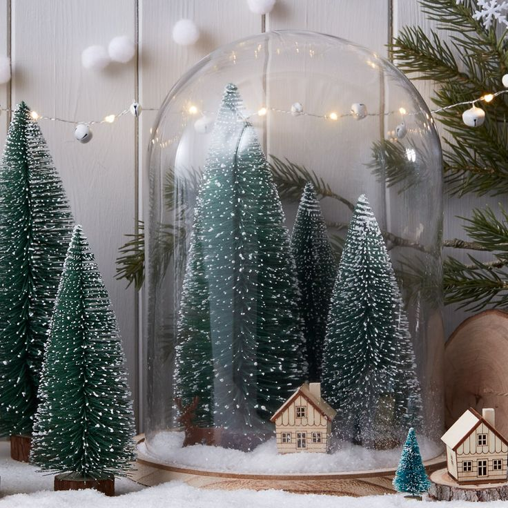 how to make woodland christmas decorations
