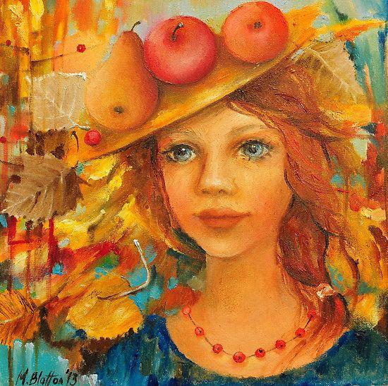 Rowan Necklace ~ by Monica Blatton