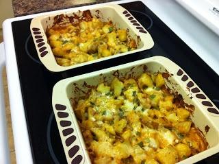 Darth Tater casserole (Looneyspoons)
