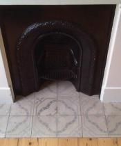 Grey Antique Fireplace Tiles