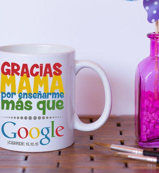 taza-bodas-regalo-mama-gracias-google, regalitos de boda, detalles de boda, regalo de agradecimiento