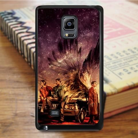 Supernatural Painting Art Horror Tv Series Samsung Galaxy Note 4 Case