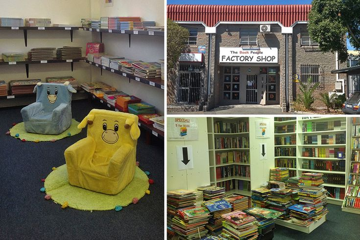 The Book People - Cape Town factory shops - Photos by Rachel Robinson
