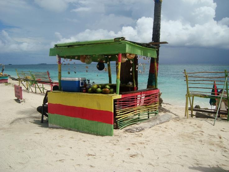 Playa San Luis - Isla de San Andrés, Colombia.