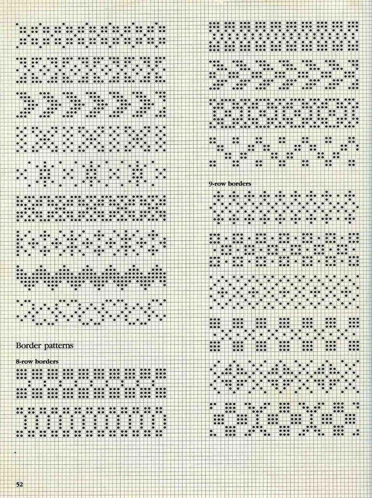 Knitting Chart No Stitch : As melhores imagens em boorden no pinterest fair