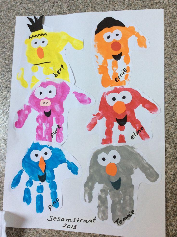 Sesame Street faces Sesamstraat gezichtjes