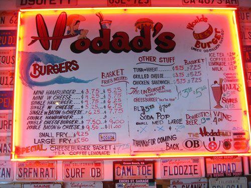 Best burger place ever! Ocean Beach Calif.
