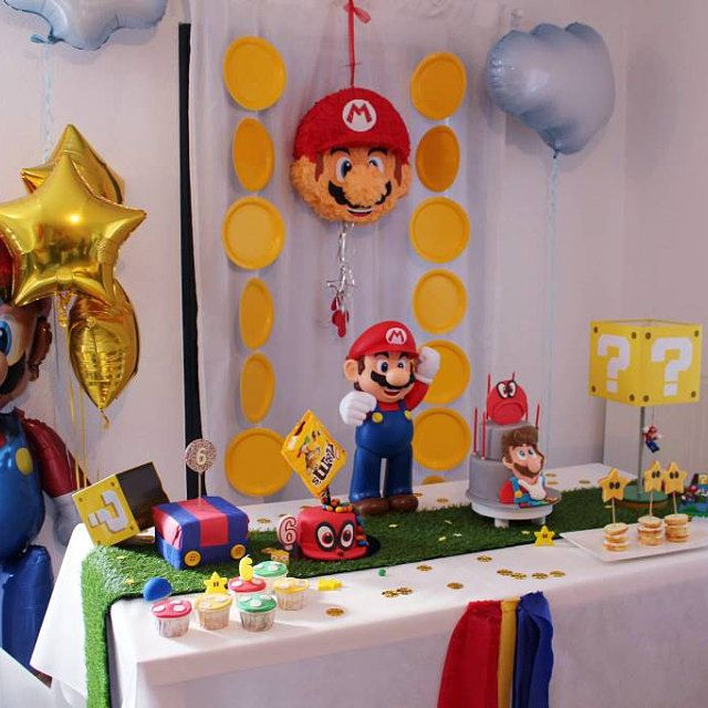 Pinata Super Mario Odyssey Mario Bros Super Mario Bros