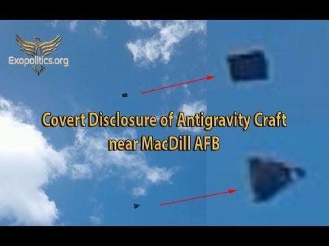 Преднамеренное раскрытие: антигравитационное судно появляется вблизи ВВС США – Ufospace.net