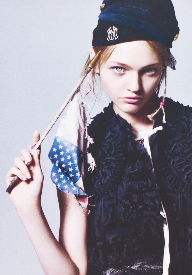 Sasha Pivovarova/ for V Magazine #40