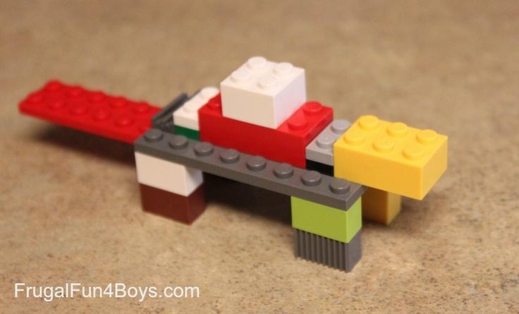 Lego Fun Friday Dinosaur Building Challenge Lego Lego