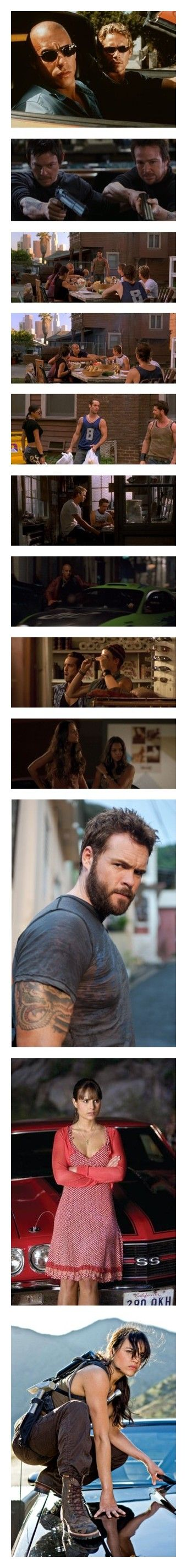 """""""Fast and Furious"""" by emma-frost-98 ❤ liked on Polyvore featuring movies, people, paul, paul walker, fast and furious, fast and the furious, brunettes, michelle rodriguez, fast & furious and boys"""