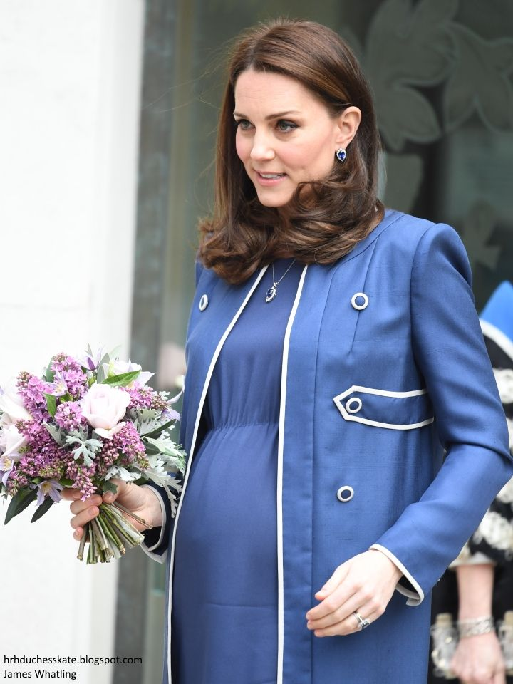 hrhduchesskate: Royal College of Obstetricians and Gynaecologists, London, February 27, 2018-Duchess of Cambridge