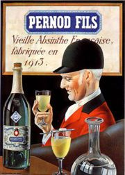 Poster and all copyrights owned by Pernod Fils, France