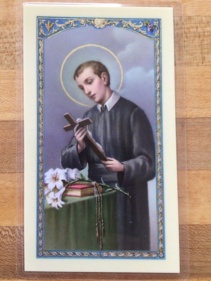 St. Gerard Majella Prayer for Safe Delivery Laminate Holy Card