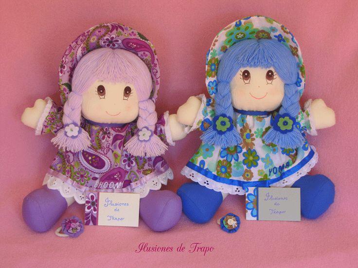 muñecas de trapo personalizadas