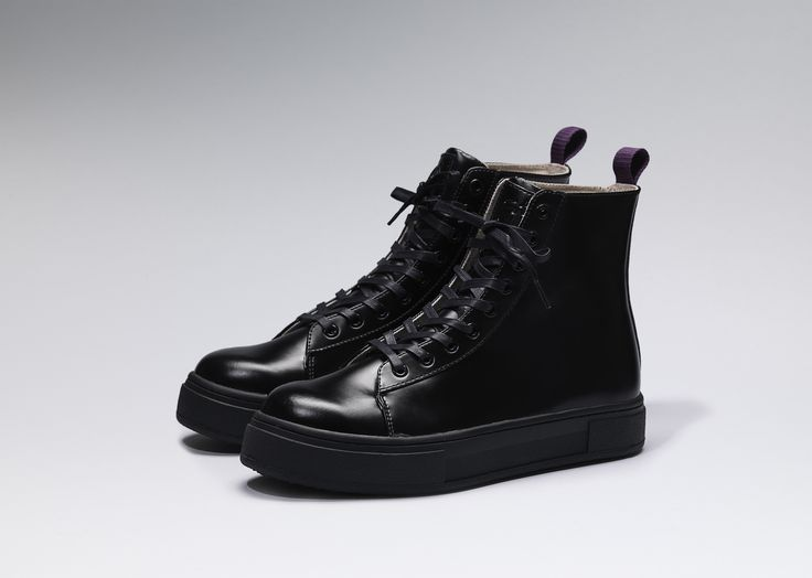 #Eytys Kibo Leather in All Black.