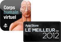 Corps humain virtuel - application pour iPad, iPhone, iPod touch et Android