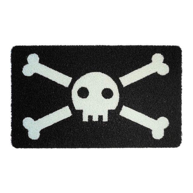 Wycieraczka Czaszka Pirata z pewnością wzbudzi respekt u Twoich sąsiadów.