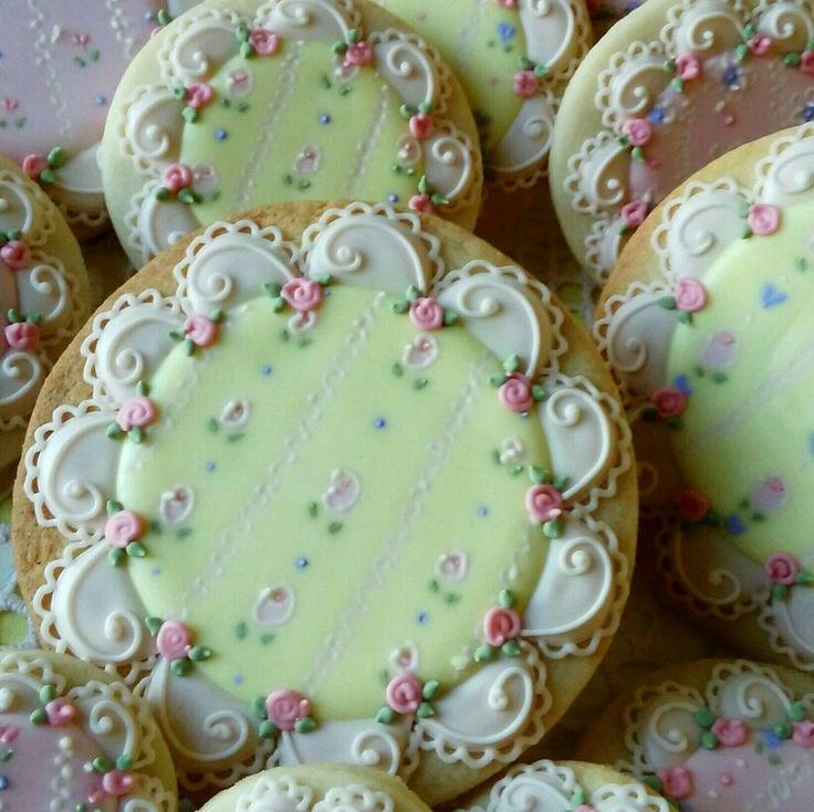 Decorated cookies, birthday,showers ,girls