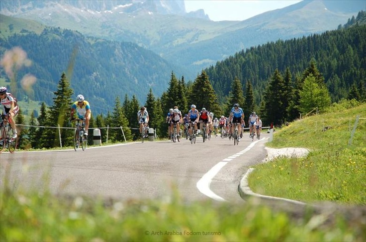 Arabba is the ideal destination for cyclists