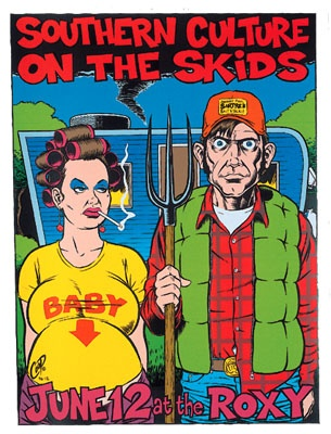 Southern Culture On The Skids - by Coop.