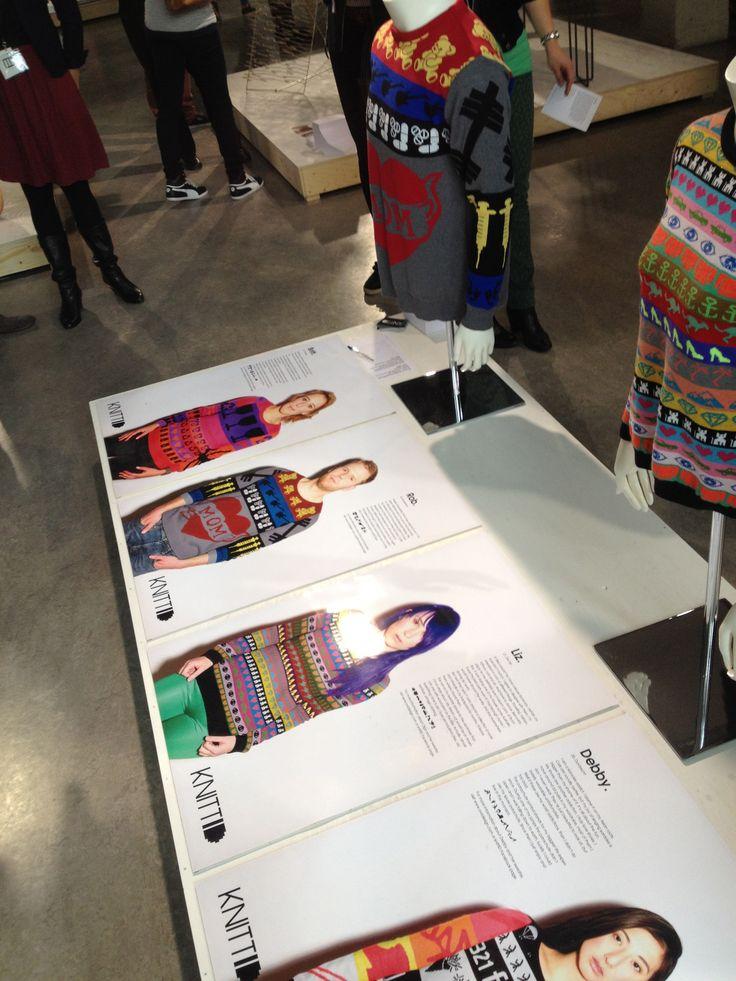 Dutch Design Week (DDW) Eindhoven - Eindelijk: Ontwerp je eigen gebreide trui!