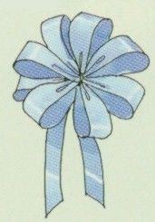 How to make the perfect bow. I'm making these bows to put on the backs of chairs at a Christmas banquet.