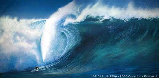 Backdrop SP017 Big Surf