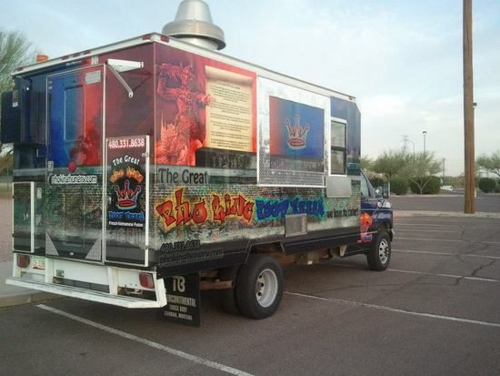 Great Pho King Food Truck