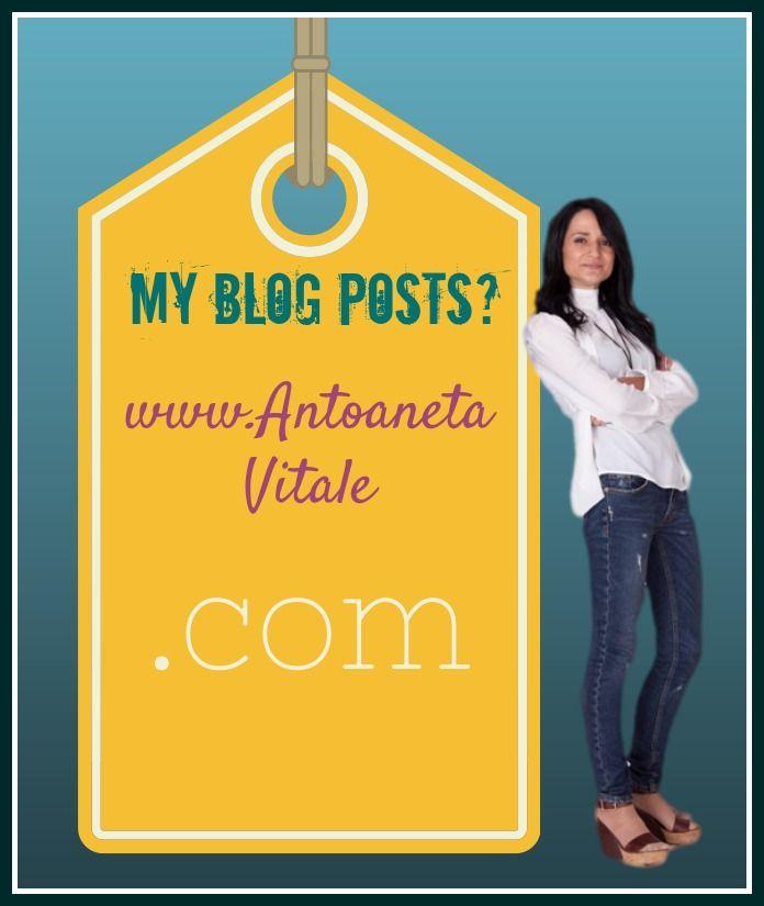 """Stai cercando """" disperatamente """" degli suggerimenti sul #NetworkMarketing, #InternetMarketing, #Blogging, #PersonalBranding e tant'altro? http://antoanetavitale.com"""
