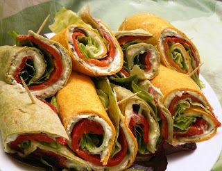 Veggie Variation - Vegetarische recepten en inspiratie vol variatie!: Griekse vega wraps (koud)