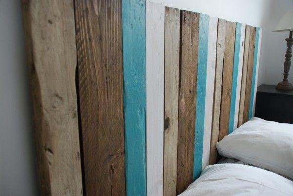 Les 25 meilleures id es concernant t tes de lit palettes - Tete de lit originale recup ...