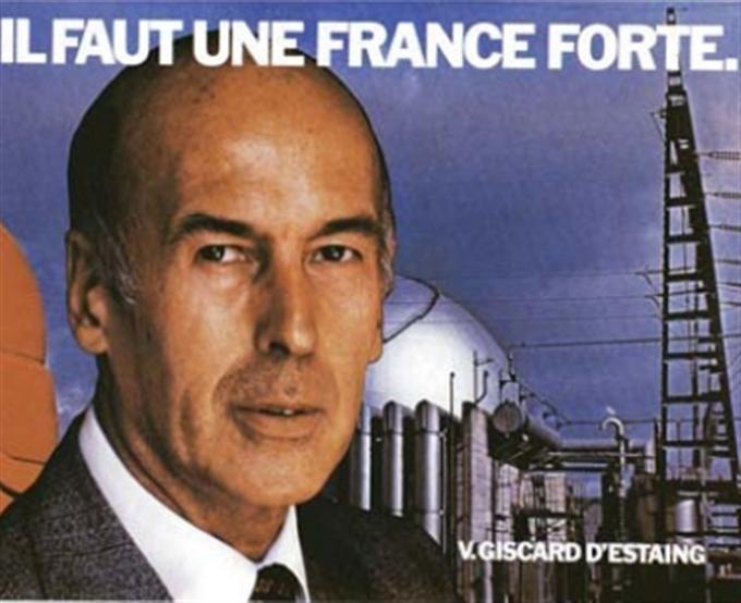 Valéry Giscard d'Estaing (geb. 1926)  in Deutschland als Sohn eines Inspecteurs geboren, wollte Frankreich keiner Supermacht unterordnen, enge Zusammenarbeit mit der BRD und Kanzler Schmidt, setzte sich ein für einen Ausbau der EG und die Schaffung des ECU als Teil des EWS, initiierte G6 in Rambouillet, Französischer Präsident (74-81, UDF)