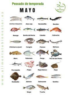 Pescado de temporada en mayo