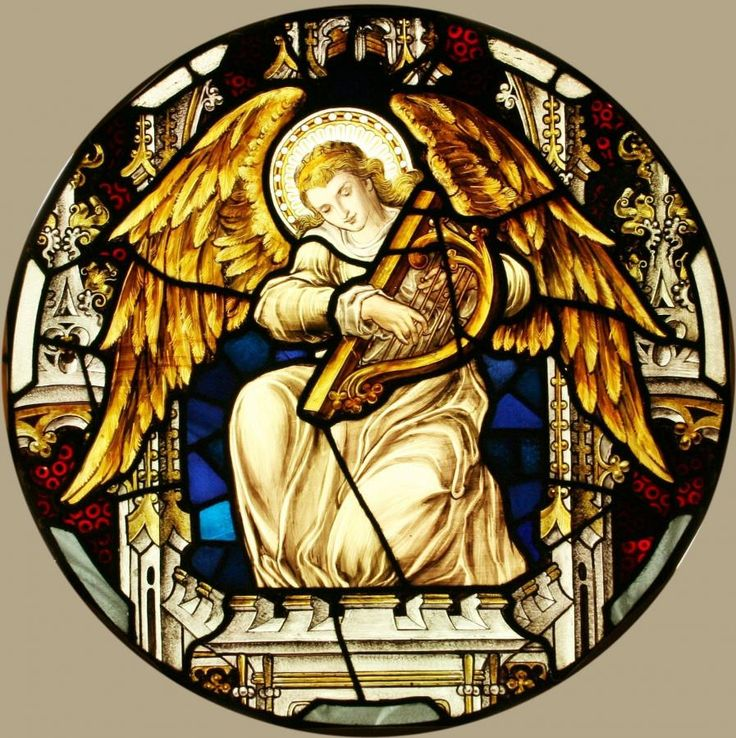 Tomkinson Stained Glass Window Painting Reference