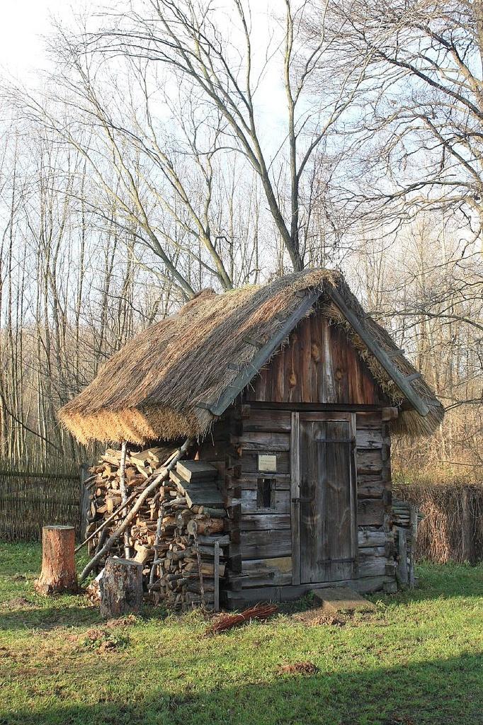 Skansen - Radom, Małopolska, Polandev  already for the winter it looks like!