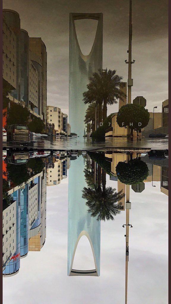 المطر والغيم في نجد العذيه ساقه المولى وصار الجو ثاني Art Artwork Photography