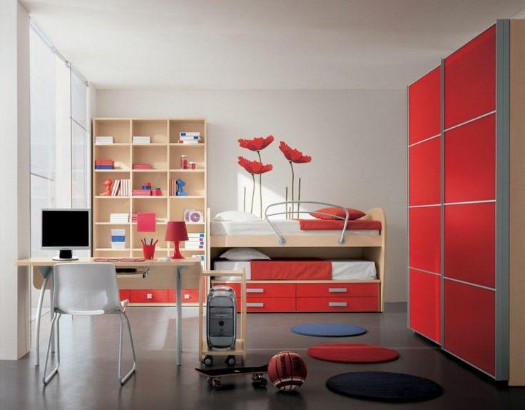 1000+ ideas about Chambre Rouge Et Gris on Pinterest   Chambres ...
