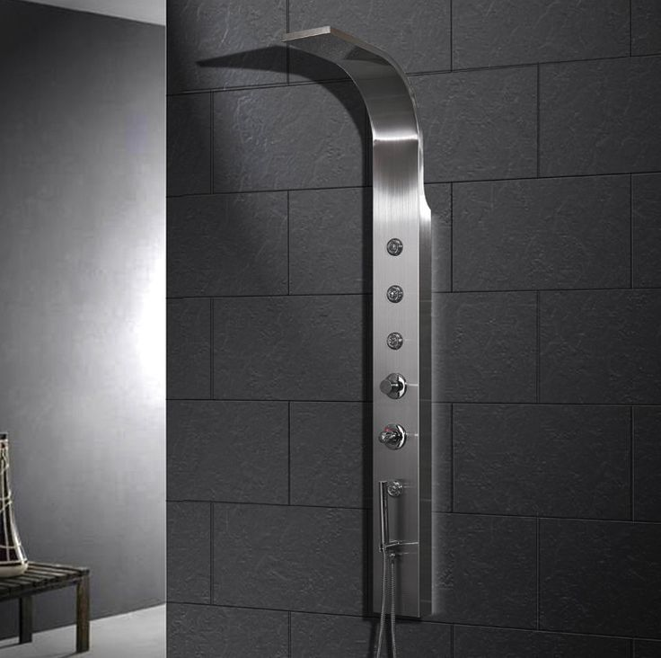 Unique Ariel A303 Stainless Steel Shower Panel Amazing - Fresh contemporary shower heads Ideas
